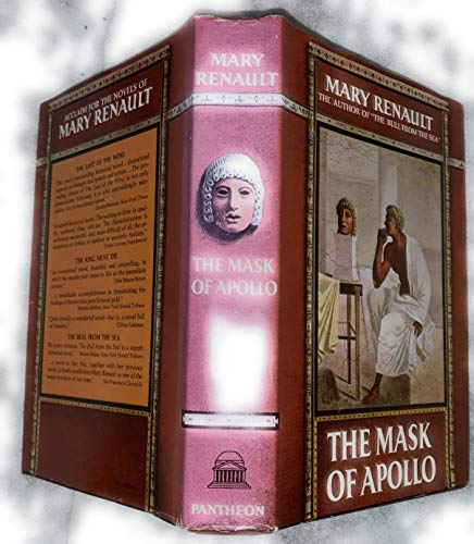 The Mask Of Apollo by Mary Renault Vintage Hardcover 1966 Pantheon