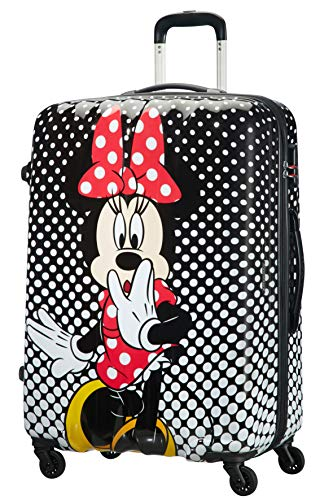 American Tourister Disney Legends - Spinner L - Kindergepäck, 75 cm, 88 L, mehrfarbig (Minnie Mouse Polka Dot)