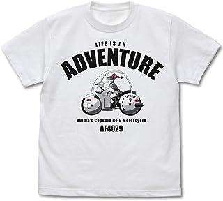 ドラゴンボール ブルマのバイク Tシャツ/WHITE-M