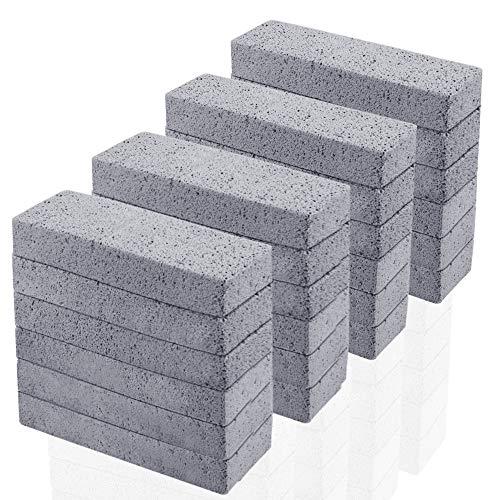 24-pack naturlig pimpsten för rengöring av pimpsten, skurplatta, toalettskålborttagare, pimpstenrengörare tar bort rester för smuts för kök / bad / pool / hushållsrengöring (5,9 x 1,4 x 0,98 tum)
