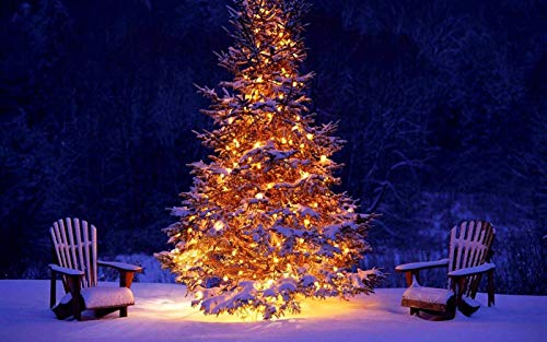 n-a DIY Painting by Numbers Landscape Digital Draw Number Frameless Paint by para Adultos Kit de Aceite Ninos Decoraciones para el hogar Ano Nuevo Navidad Árbol de Navidad Decoracion Sillas