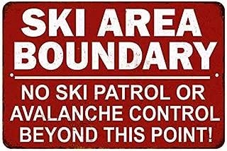 Best vintage metal ski signs Reviews