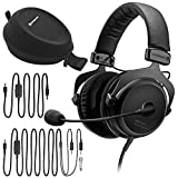 Beyerdynamic MMX 300 (2nd Gen) Premium Gaming Headset with 6Ave Cleaning Kit