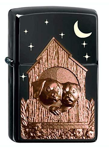Zippo Dog House Emblema – Ebony – Limited Edition xxx/1000