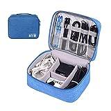 STOIQE Electronics Organizer Waterproof Carrying Case - Universal Travel Digital Accessories Storage...