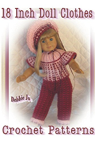Crochet Doll Clothes & Shoes - Doll Dress Pattern Collection ... | 500x333