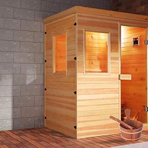 Seasons Shop Premium Zubehör Set Für Sauna Sauna Starter Set Saunakübel Natürlich Wird Hauptsächlich In Saunen Und An Dampfenden Badezimmern Verwendet Realistic