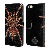 Head Case Designs Licenza Ufficiale Bioworkz Ragno Decorato Veleno Colorato Cover in Pelle a Portafoglio Compatibile con Apple iPhone 6 Plus/iPhone 6s Plus