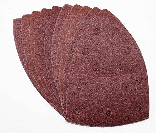 50 Stück Klett-Schleifblätter 105x152 mm Korn 120 für Multischleifer Bosch Prio, Ventaro