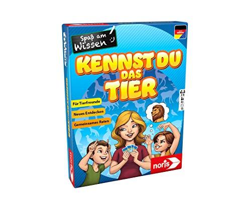 noris 606071867 Kennst du das Tier das tierisch lustige Quizspiel für die ganze Familie, für Kinder ab 4 Jahren
