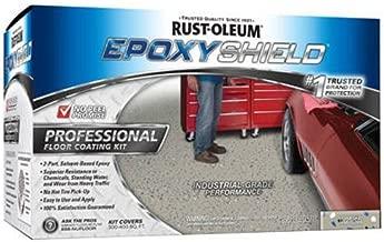 Rust-Oleum 203373 Professional Floor Coating Kit, Silver Gray, 1 Pack,