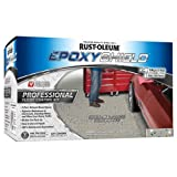 Rust-Oleum 203373 Professional Floor Coating Kit, Silver Gray, 1 Pack