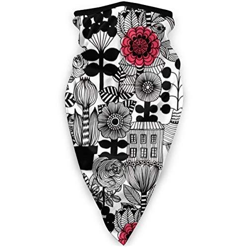 jhgfd7523 Marimekko pieza multifuncional Snood calentador al aire libre bufanda cuello pasamontañas para hombres y mujeres