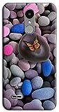 Mixroom Coque en TPU silicone souple pour LG K8 2017 M739 Sassi Papillon Zen