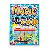 Magic Aquarium - Peces de Arrecife de Deluxebase. Cultiva Tus Propios Peces en Este Kit de pecera de Juguete para niños