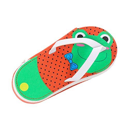 Fygood Etui, PU-leer, schoenvorm, sandalen, 19,5 x 8,4 x 4 cm
