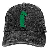 AINCIY Gorra de Camionero de béisbol, Vector de Silueta asiática Ajustable Juventud Cowboy Hombres Golf Gorras Sombreros