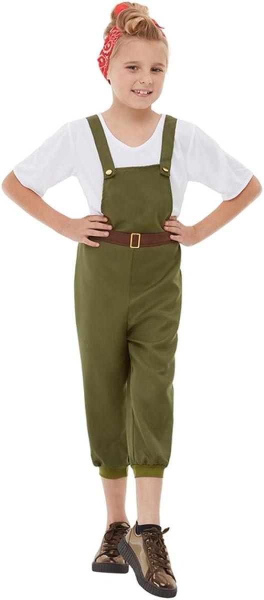 Smiffys WW2 Little Land Girl Costume