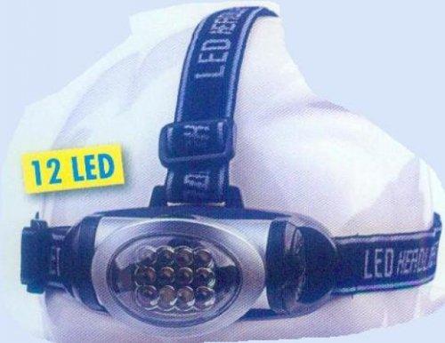 Behr Stirnlampen Kopflampe 12 LED, 62142