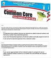 [カーソンデロッサ]Carson-Dellosa The Complete Common Core State Standards Kit for Math Pocket Chart Cards, Gr 8 158053 [並行輸入品]