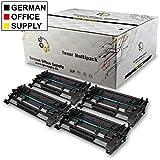 German Office Supply 4 Toner per HP CF226A 26A nero HP Laserjet Pro M 402 d/DN/dne/dw/m/n MFP M 420 Series M 426 DN/dw/fdn/fdw/fm/n Troy M 402 M 402