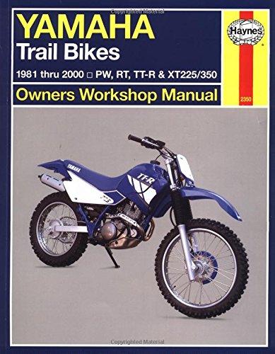Yamaha Trail Bikes 1981 thru 2000: 1981-2000 (Haynes Manuals)