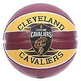 Spalding NBA Team CLEVELAND CAVS SZ.7 (83-504Z) - Pallone da basket, multicolore