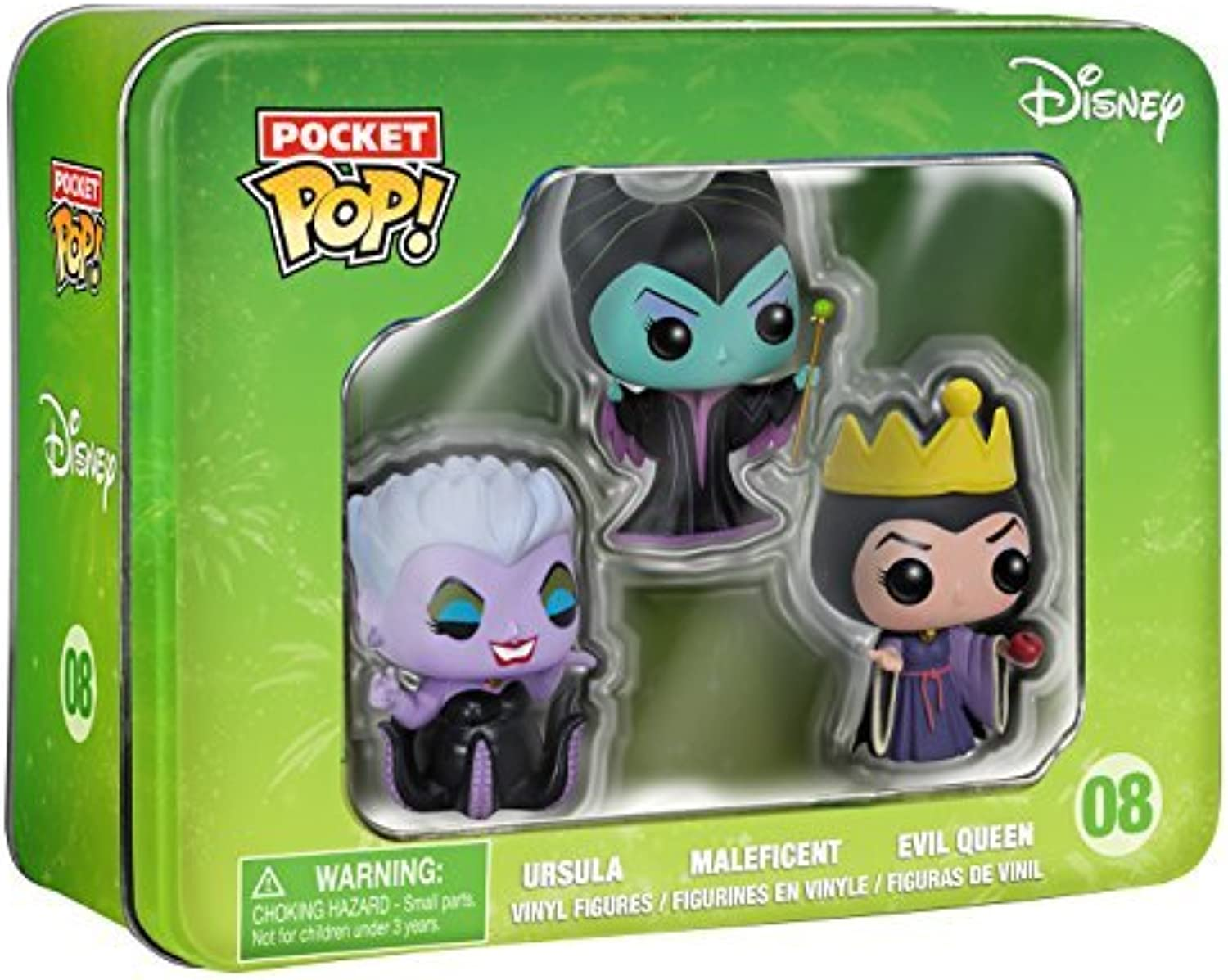 Disney Tin- Villains - by FunKo