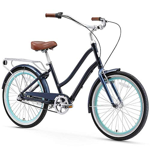 Great Features Of sixthreezero EVRYjourney Women's 3-Speed Step-Through Hybrid Cruiser Bicycle, 24 ...