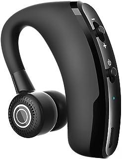 Cic Fone de Ouvido Bluetooth Sem Fio Mini, Gancho, Microfone para Chamadas, Apple e Android, Preto