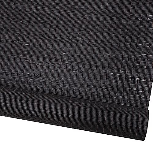 LDGS&TTW Blackout Bamboo Roller Shades Outdoor Impermeabile Rullo Tronco per la Porta Porta Esterno Patio Roll Up Shade Blinds per Portico Gazebo Window Blinds per casa bambù