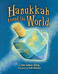 Hanukkah books about celebrating around the world.
