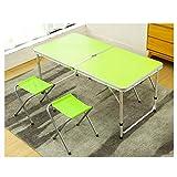 Mesa de camping plegable Escritorio plegable, escritorio para oficina en casa, escritorios plegables para espacios pequeños, mesa plegable con marco, antideslizante, impermeable, resistente al arañazo