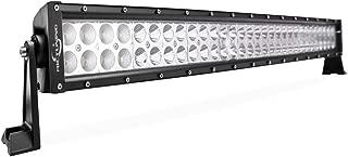 MICTUNING 32 Inch 180W Combo Led Light Bar - 13200 Lumen, 6000-6200K Crystal White, Waterproof for Off-road Jeep ATV UTV SUV Truck Boat