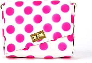 Small Leather Polka Dot Box Bag Super Cute Shoulder Bag Leather Handbag Your Small Accessories