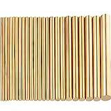 24 barre tonde in ottone da 1,5 – 8 mm per 100 mm di lunghezza, asta in ottone senza piombo per punzoni da deriva, vari alberi fai da te, modello di aereo modello bate