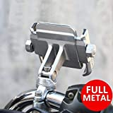 NikoMaku Motorcycle Cell Phone Holder Bike Phone Mount Handlebar Holder 360° Adjustable Compatible