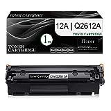 1-Pack (Black) 12A   Q2612A Compatible Toner Cartridge Replacement for HP Laserjet 1020 (Q5911A) 1022 (Q5912A) 1022n (Q5913A) 1022nw (Q5914A) 1010 (Q2640A) 1012 (Q2641A) Printer Toner Cartridge.