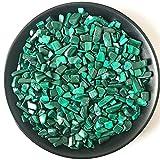 YSJJAXR Piedra de Cristal Natural 50G / Paquete Lote Natural Malachite Cuarzo Cuarzo Cristal Tumbled Stone Chip Grava Suring Decoración de Acuario Mineral Decoración hogareña (Size : 50g)