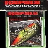 Rapala Countdown 3/16 Oz Fishing lure (Fire Minnow, Size- 2)
