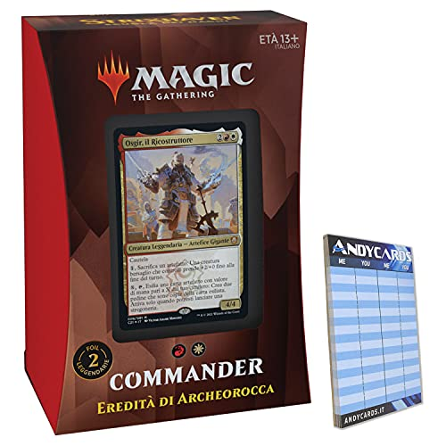 Baraja Ereez de Archeorocca Commander Deck Strixhaven STX – 100 cartas Magic...