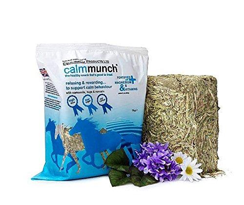 Calmmunch - A Saludable, Delicioso, Baja CaloríA, Bajo Contenido En Azúcar, Alto Fibra Snack Para Ansioso O Excitable Caballos & Potros - 5 x 1kg