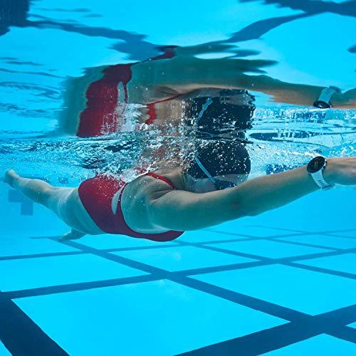 Garmin Swim 2 GPS-Schwimmuhr mit Herzfrequenzmessung unter Wasser und speziellen Schwimmfunktionen, Schwimmbad-/Freiwasser-Modus, GLONASS, GALILEO, Sport-Apps, 7 Tage Akkulaufzeit, Grau - 4