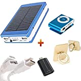 Probeatz Reliable Power Bank-20000Mah with Solar Led Charging with Mobile Ring Holder, Extendable