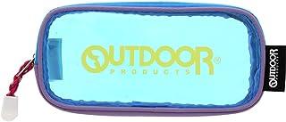 サンスター文具 OUTDOOR ペンケース クリアポーチ ヴァイオレット+ブルー S1421581