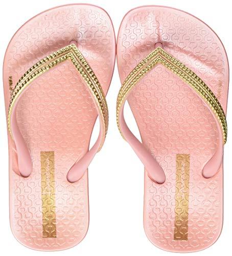 Ipanema Mädchen Mesh Kids Zehentrenner, Mehrfarbig (Pink/Pink/Gold 9184), 32 EU
