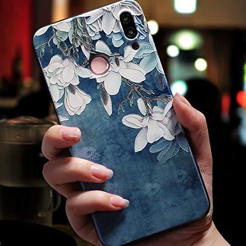 Funda Suave en Relieve 3D para Huawei P20 P30 P8 P9 P10 Mate 10 20 Lite Pro Nova 3 3i Capa para Huawei Honor 8X 6A 7A Pro 9 Lite 10 Funda, yulanhua, Nova 3i