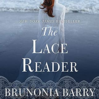 The Lace Reader audiobook cover art