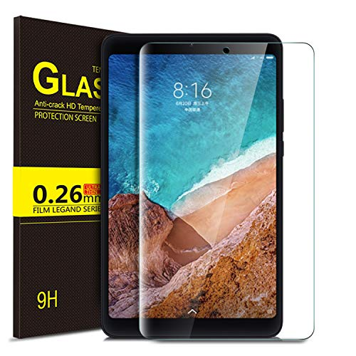 ELTD Xiaomi Mi Pad 4 película protectora, película de protección de vidrio templado con una dureza de 9H y bordes redondeados para 2,5D para Xiaomi Mi Pad 4 7.9 tableta de la pulgada (1-Piezas)