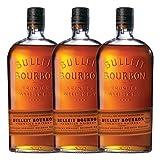 Bulleit Bourbon Frontier Whisky 3er Kentucky Straight Bourbon Whisky Bebida alcohol, alcohol, botella, 45% 700 ml, 749201